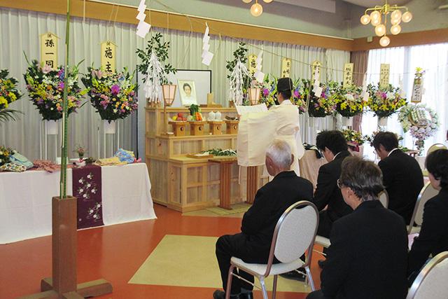 秩父神社の慰霊祭