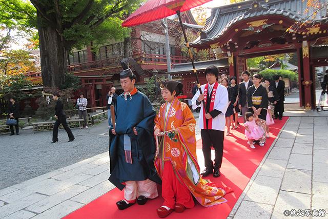 秩父神社の結婚式